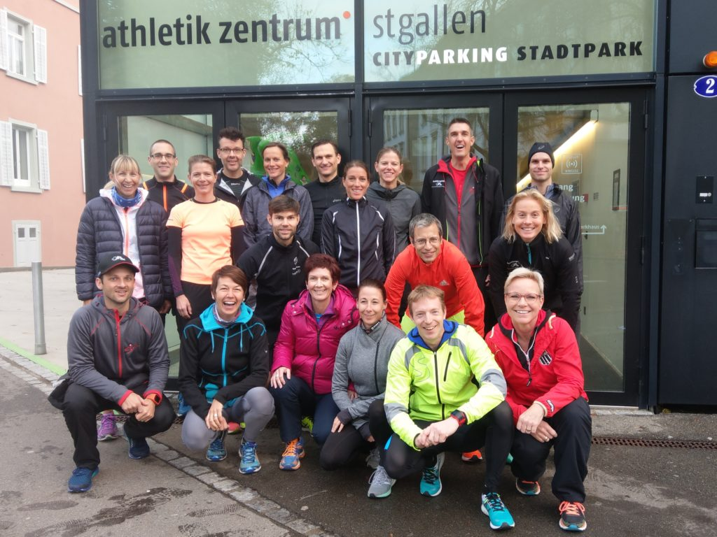 Runningleiter Fachausbildung St.Gallen