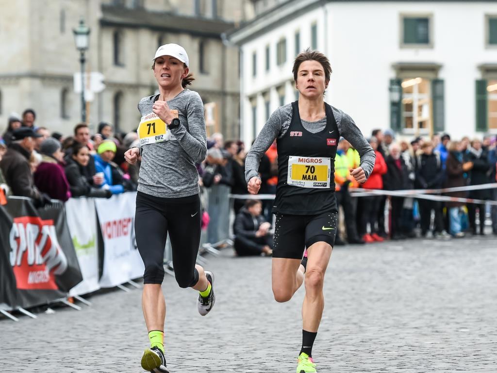 Maja Neuenschwander beim Zürcher Silvesterlauf im Elite-Rennen (Photo: Silvesterlauf)