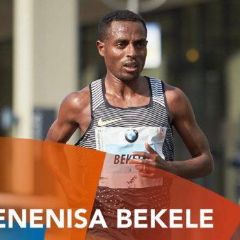 Kenenisa Bekele bei einem Wettkampf-Einsatz