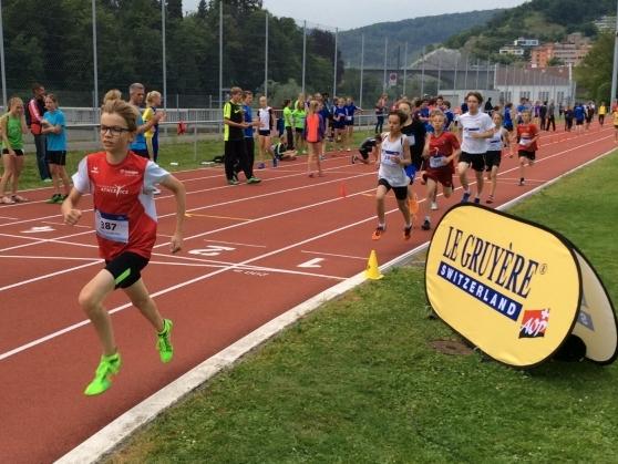 MILLE GRUYÈRE, Regionalfinal 2017 in Baden (Photo: Swiss Athletics)